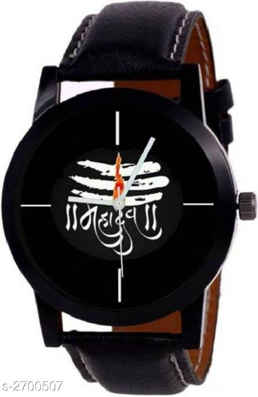 Watches Stylish Men's Analog Leather Watch  *Material* Leather   *Size* Free Size   *Type* Analog   *Description* It Has 1 Piece Of Men's Watch  *Sizes Available* Free Size *    Catalog Name:  Ashi Stylish Men's Analog Leather Watches Vol 7 CatalogID_365428 C65-SC1232 Code: 022-2700507-