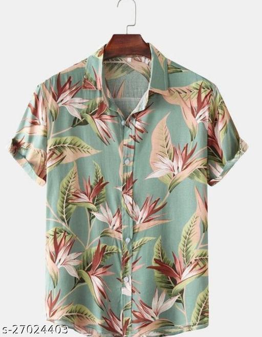 Men's Digital printed shirt fabric (unstitched) DD Print