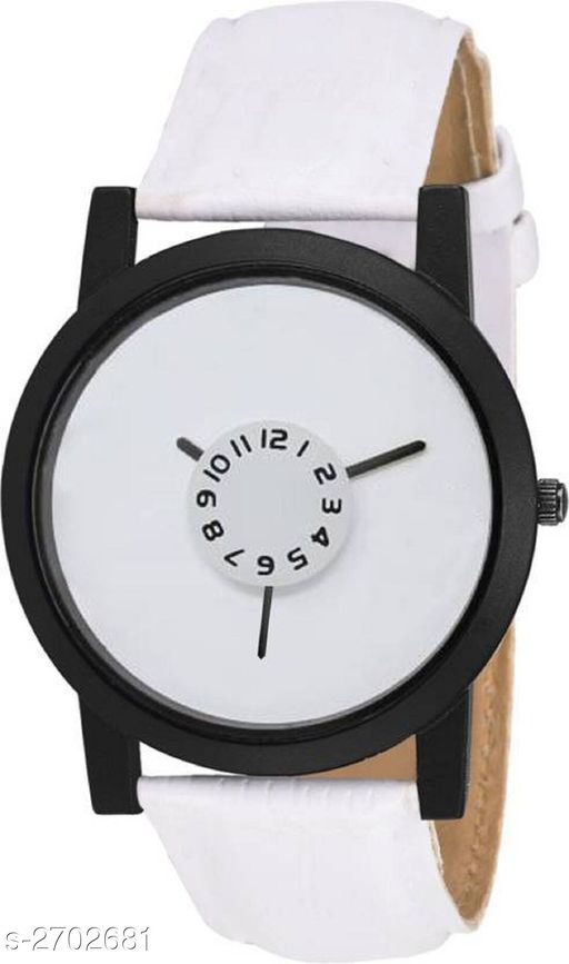 Watches Stylish Men's Analog Leather Women's Watch  *Material* Leather   *Size* Free Size   *Type* Analog   *Description* It Has 1 Piece Of Men's Watch  *Sizes Available* Free Size *    Catalog Name:  Ashi Stylish Women's Analog Leather Watches Vol 10 CatalogID_366031 C72-SC1087 Code: 281-2702681-