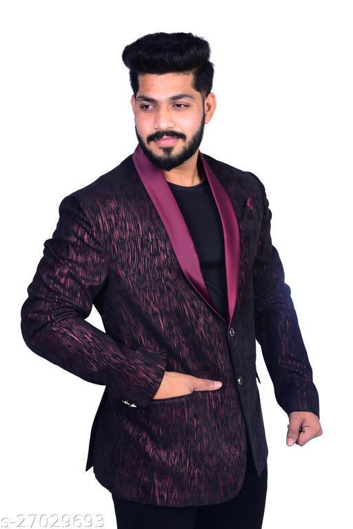 ABC Fashion Men's Slim Fit Single Breasted Blazer…