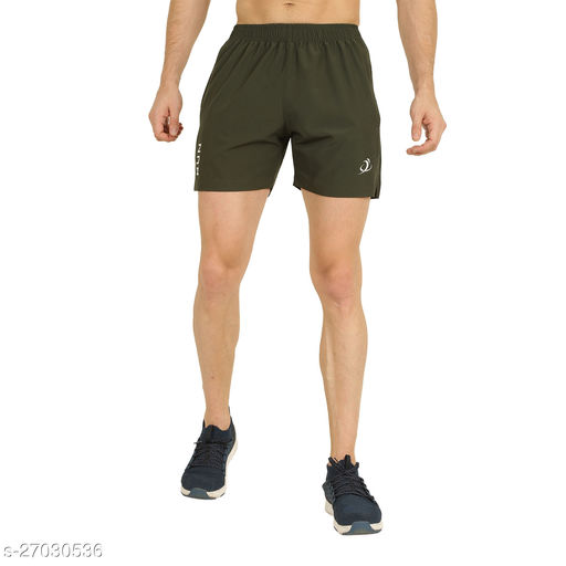 Positive Men's Regular Active/Sports/Gym Shorts for Men and Boys