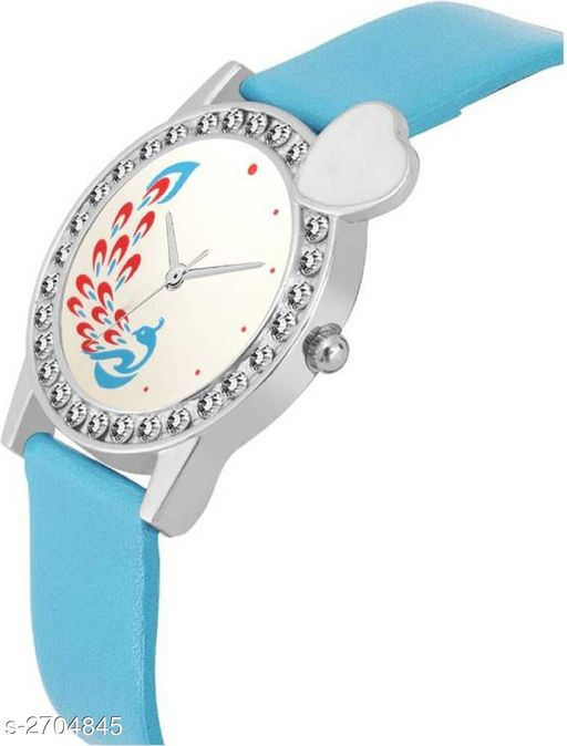 Watches Stylish Analog Leather Watch  *Material* Leather   *Size* Free Size   *Type* Analog   *Description* It Has 1 Piece Of Women's Watch  *Sizes Available* Free Size *    Catalog Name:  Ashi Stylish Analog Leather Watches Vol 15 CatalogID_366358 C65-SC1232 Code: 022-2704845-