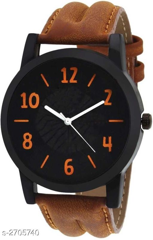 Watches Stylish Men's Analog Leather Watch  *Material* Leather   *Size* Free Size   *Type* Analog   *Description* It Has 1 Piece Of Men's Watch  *Sizes Available* Free Size *    Catalog Name:  Ashi Stylish Men's Analog Leather Watches Vol 17 CatalogID_366484 C65-SC1232 Code: 022-2705740-
