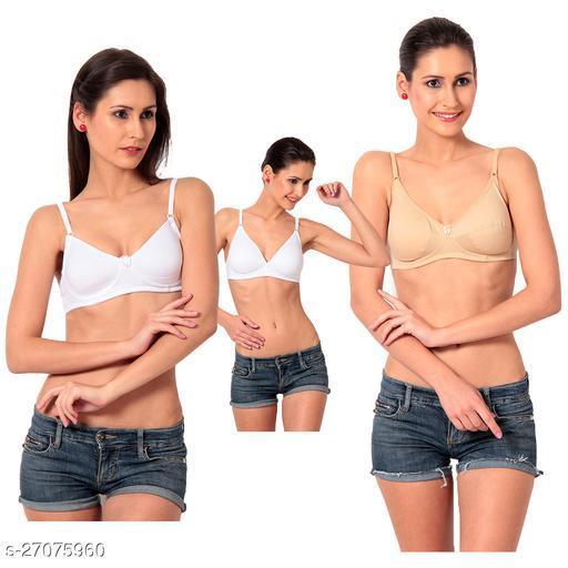 Macrowmen W-series bra   Pack of 3 . Color: Multicolor