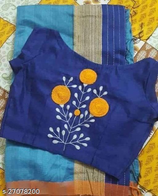 Moharani Women's  pure Cotton Blouse Piece
