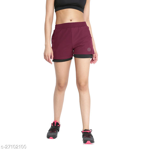 CHKOKKO Women Running Shorts