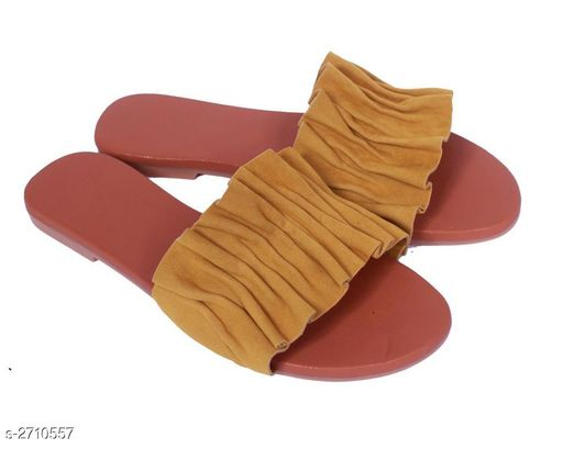 Flats Fancy Women's Casual Flat Sandals  *Material* Upper Material- Synthetic  Sole Material- TPC  *IND Size* IND - 3, IND - 4, IND - 5, IND - 6, IND - 7  *Description* It Has 1 Pair Of Women's Flat Sandal  *Sizes Available* IND-3, IND-4, IND-5, IND-6, IND-7 *   Catalog Rating: ★3.9 (32)  Catalog Name: Elite Fancy Women's Casual Flat Sandals Vol 1 CatalogID_367194 C75-SC1071 Code: 023-2710557-