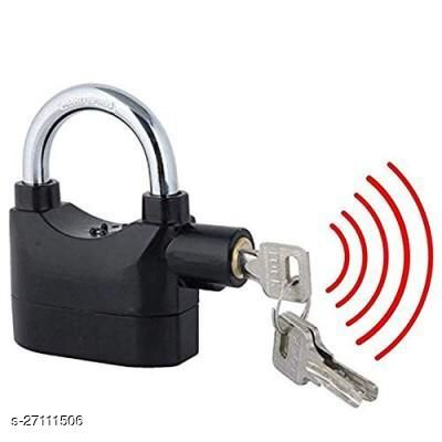 Theft Motion Sensor Alarm Lock for Home, Office and Bikes