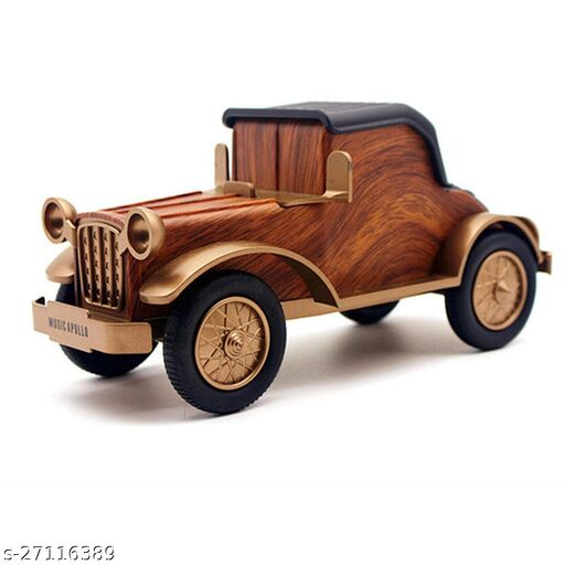 Walrus Vintage Car Bluetooth Speaker Support Fm/Tf Card/Aux/Usb: V 4.1, Playing Time: 8 Hours,