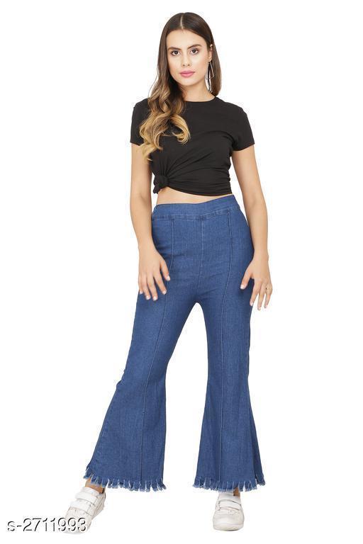 Fashionable Women's Denim Pant