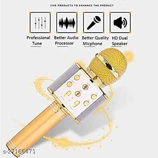 gold-microphone