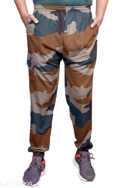 AXOLOTL Military/Army Style Camouflage Lower/Track Pant for men (Cargo Style)