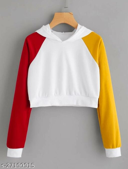 crop top hoodies