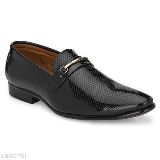 DEEKADA Men's Synthetic Leather Loafers