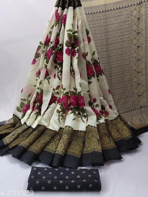 Silk Saree with blouse piece