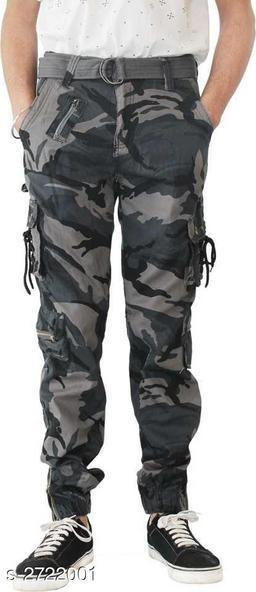 Men's Stylish 8 Pockets Cotton Cargo Pant