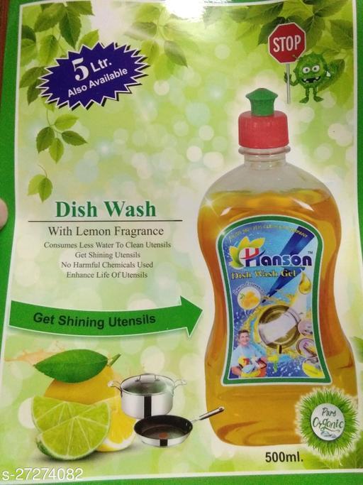 Lemon fragrance comes during wash
