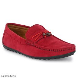 casual Loafer For Men Cherry