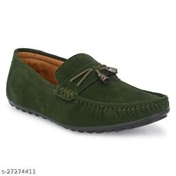 Casual Loafer For Men Green