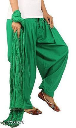 Z-JAIP Jaipuri Soft Cotton Stylish Traditional Plain Regular Fit Women's Patiala Salwar Pants