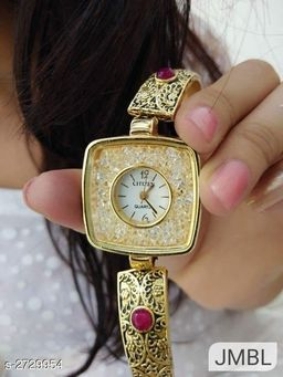 Stylish Brass Women's Bracelet Watch