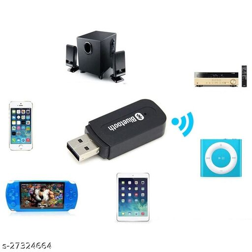 Bluetooth Audio Receiver for car, Wireless Bluetooth car Bluetooth Device for Music System/Bluetooth Connector for car Music System/Bluetooth Connector for Home Theatre