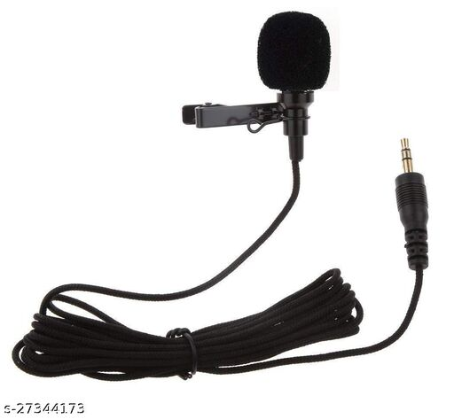 Metal 3.5mm Clip Microphone For Voice Recording