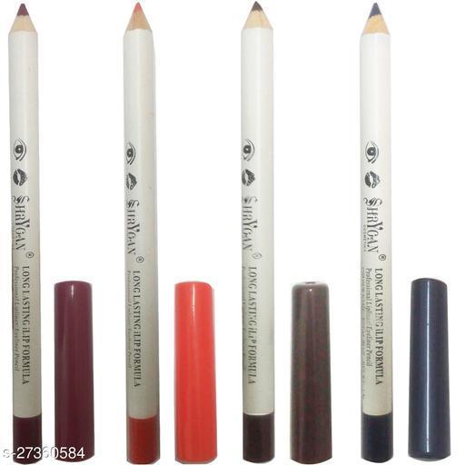 1 MAROON LIPLINER/EYELINER PENCIL (1.8 GM) + 1 ORANGE LIPLINER/EYELINER PENCIL (1.8 GM) + 1 BROWN LIPLINER/EYELINER PENCIL (1.8 GM) + 1 ROYAL BLUE LIPLINER/EYELINER PENCIL (1.8 GM)