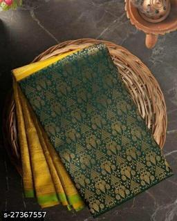 Beautiful Stylish Banarasi Silk Saree