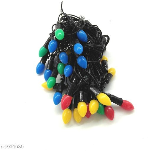3 Meter (Approx)28 Led Colorful Grape Black Wire String Light (Small )