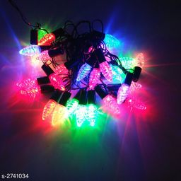3 Meter (Approx) Crystal Strawberry Black Wire LED String Light