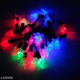 21Ft/3 Meter (Approx) 28 Bulb Crystal Christmas tree Black Wire LED String Light