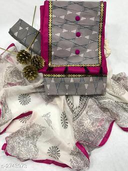 Trendy Cotton  Suits & Dress Materials