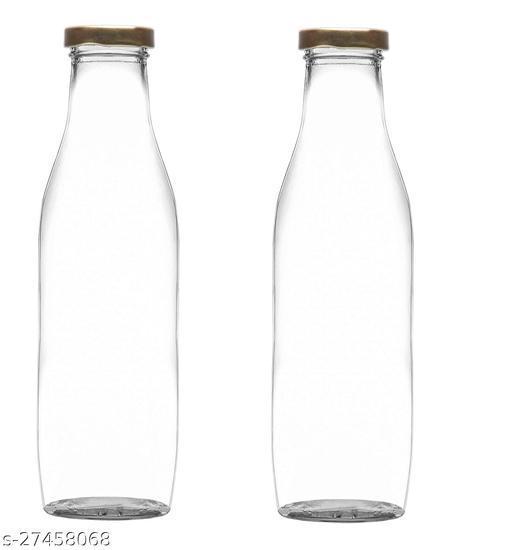 Glass Water/Milk/Juice Bottle 1000 ML