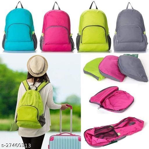 Backpack Bag Folding