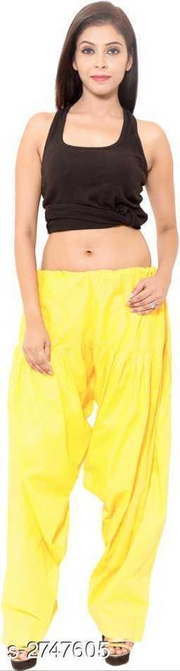Trendy Cotton Blend Women's Patiala Salwar