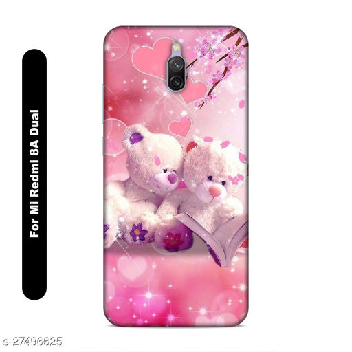Jprindm Mobile Back Cover For Mi Redmi 8A Dual