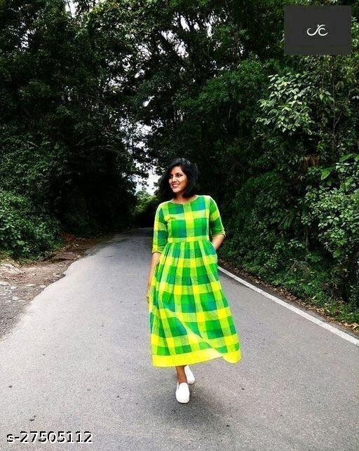 Aagam Drishya Kurtis