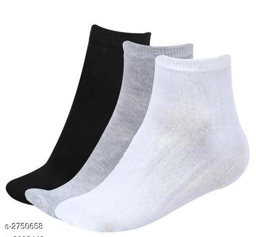Comfy Men's Socks (Pack Of 3)