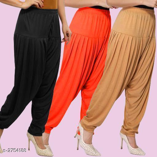 Fabulous Viscose Women's Patiala Pants Combo