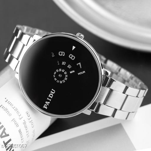 PAIDU BEST STYLISH Black Watch for Men Hybrid Smartwatch Watch - For Men