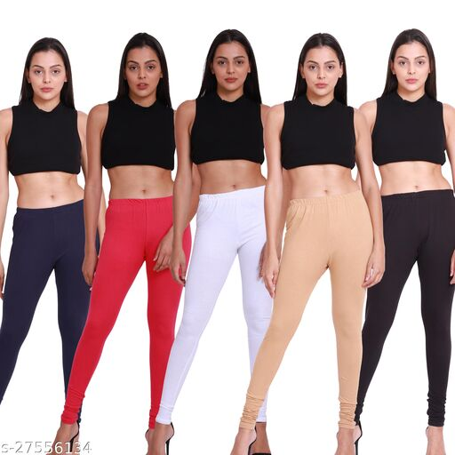 Leggings,combo pack of 05 -Free Size