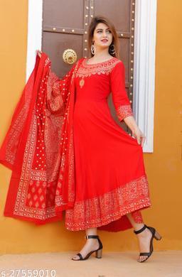 Trendy Graceful Women Gown