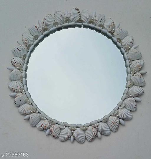 sea shell wall mirror