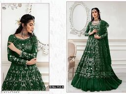 Aagam Fashionable Semi-Stitched Suits