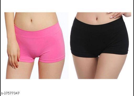 Women Pack of 2 Boy Shorts Panties