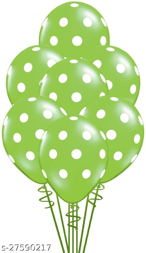 100pcs Green Polka Dots Balloons 12inch large Polka Dot Latex Party Strawbetty mouse Balloons for Wedding Birthday Party Festival Decoration Supplies