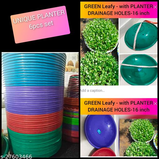 Classic Pots & Planters