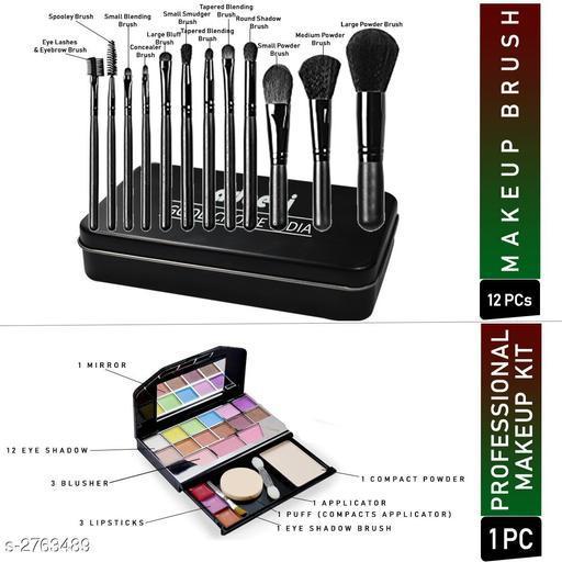 Face Premium Choice Face Care Product  *Product Name* Adbeni Makeup Brush With TYA Makeup Kit Pack of 13-GCI624  *Brand Name* Adbeni  *Product Type* Makeup Kit  *Capacity* Makeup Kit  *Description*