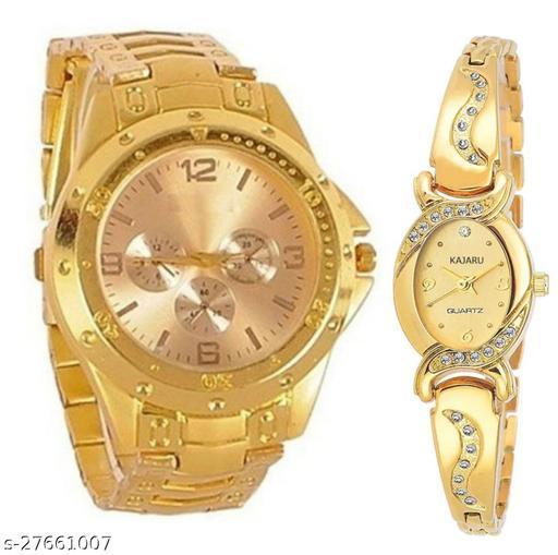 Men's and Women's watch combo